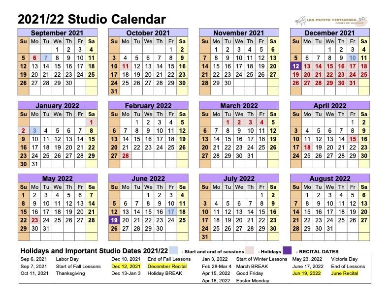 Les-Petits-Virtuoses-2020-2021-Calendar
